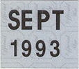 1993 decal